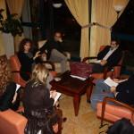 Valeria Golino e Valerio Jalongo incontrano la stampa all'NH Hotel