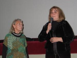 Giulietta Paolinelli al cinema Italia di Ancona con Elena Cotta, Coppa Volpi 2013