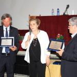Protti e Purziani con il premio Fabretti