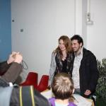 foto con Matteo Petrini